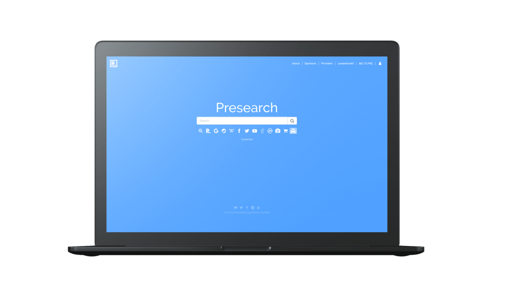 browser presearch